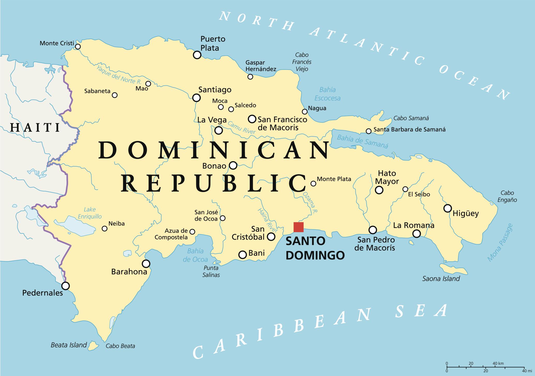 Att göra och se i Dominikanska republiken
